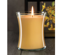 Orange Spice Tea Hour Glass Jar Candle