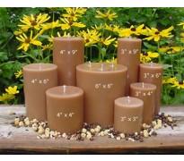 Brown Unscented Pillar