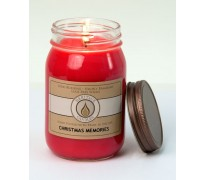 Christmas Memories Traditional Canning Jar Candle