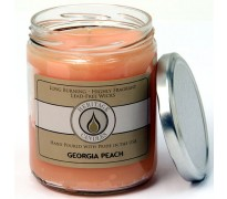 Georgia Peach Classic Jar Candle