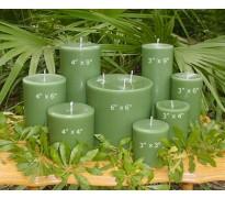 Sage Green Pillars