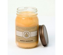 Mango Mandarin Traditional Canning Jar Candle