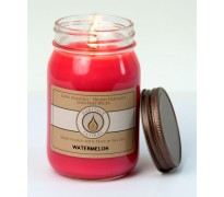 Watermelon Traditional Canning Jar Candle