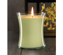 Honey Pear Hour Glass Jar Candle