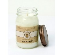Baby Powder Traditional Canning Jar Candle