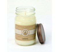 Gardenia Traditional Canning Jar Candle