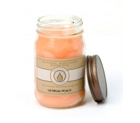 Georgia Peach Traditional Canning Jar Candle