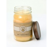 Juicy Mango Papaya Traditional Canning Jar Candle
