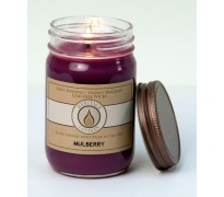 Mulberry Traditional Canning Jar Candle