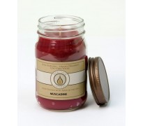 Muscadine Traditional Canning Jar Candle