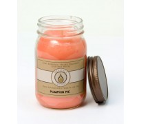 Pumpkin Pie Traditional Canning Jar Candle