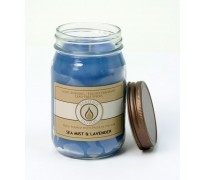 Sea Mist and Lavender Traditional Canning Jar Candle