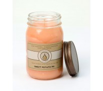 weet Potato Pie Traditional Canning Jar Candle