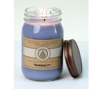 Tranquility Traditional Canning Jar Candle