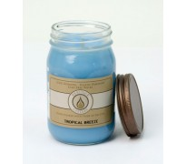 Tropical Breeze Traditional Canning Jar Candle