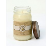 Vanilla Traditional Canning Jar Candle